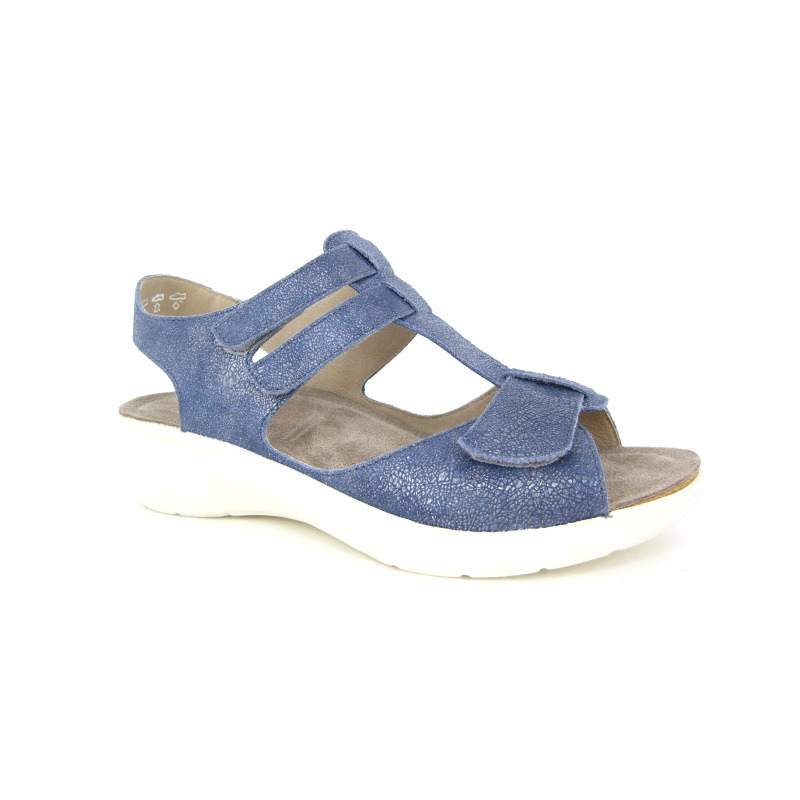 Solidus Sandaal Blauw