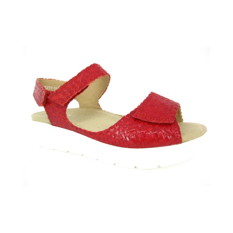 Solidus Sandaal Rood