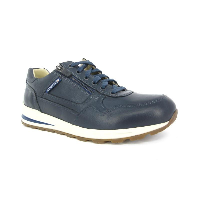 Mephisto Sneaker Blauw donker