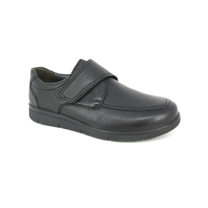 Solidus Velcroschoen Zwart