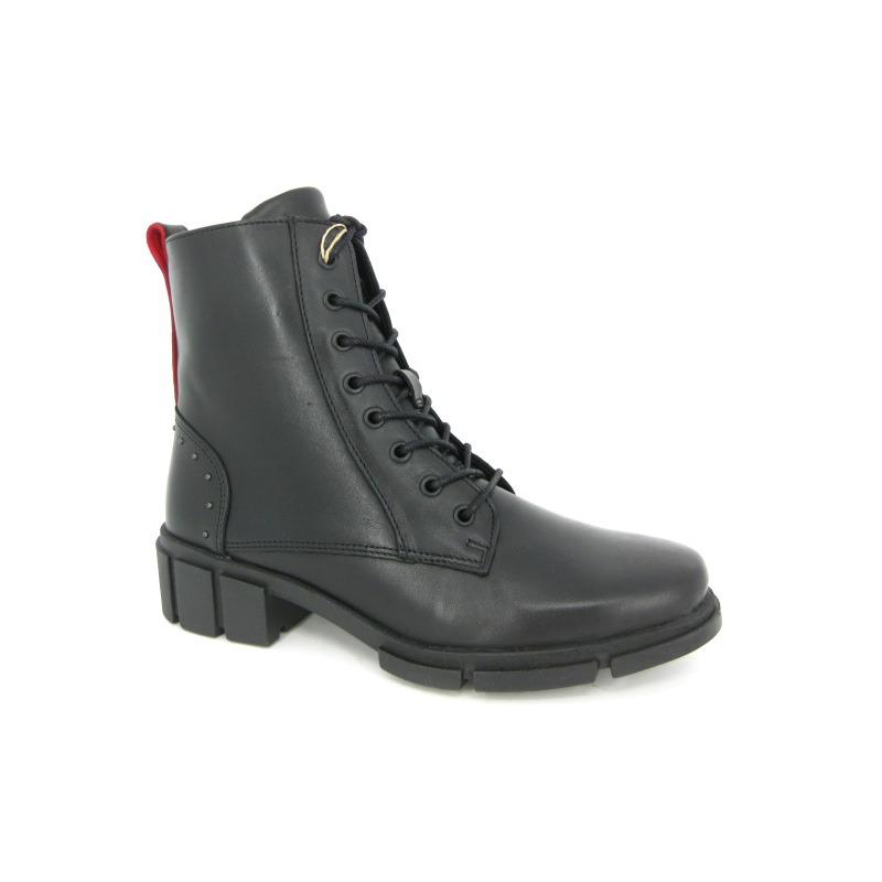 Solidus Boots Zwart