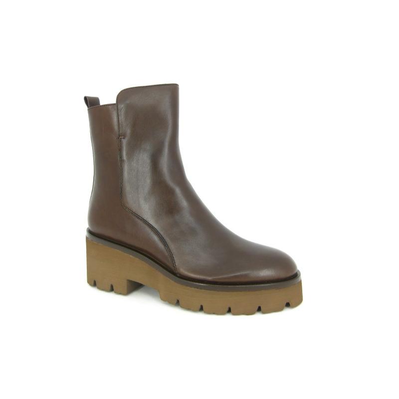 Elvio Zanon Boots Bruin donker